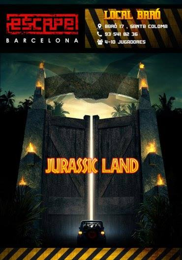 Escape BCN- Jurassic Land
