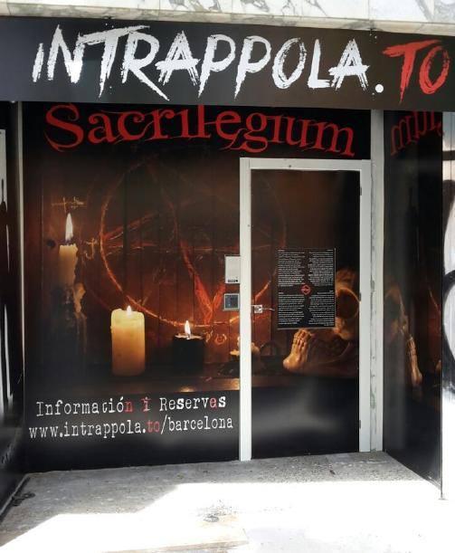 Intrappola.to BCN – Sacrilegium
