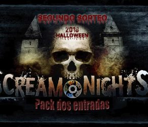 Sorteo Scream Nights Park