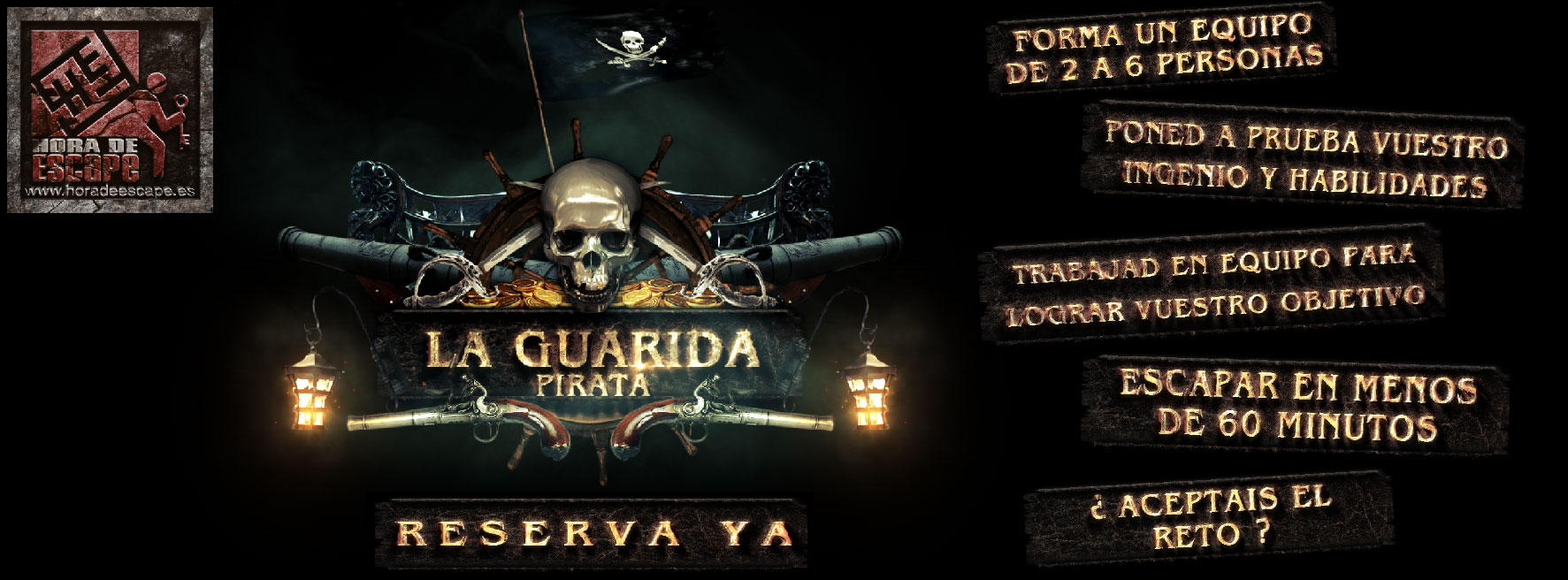 La guarida pirata