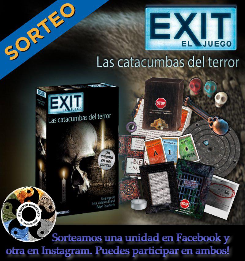 Sorteo Exit Catacumbas